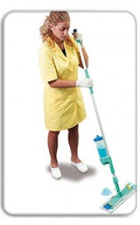 Száraz- és nedves padlótisztítás