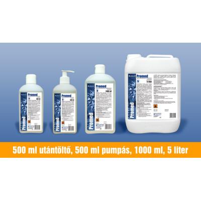 Promed kézfertőtlenítős folyékony szappan