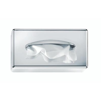Cosmetic Box kozmetikai törlőkendő adagoló ABS króm